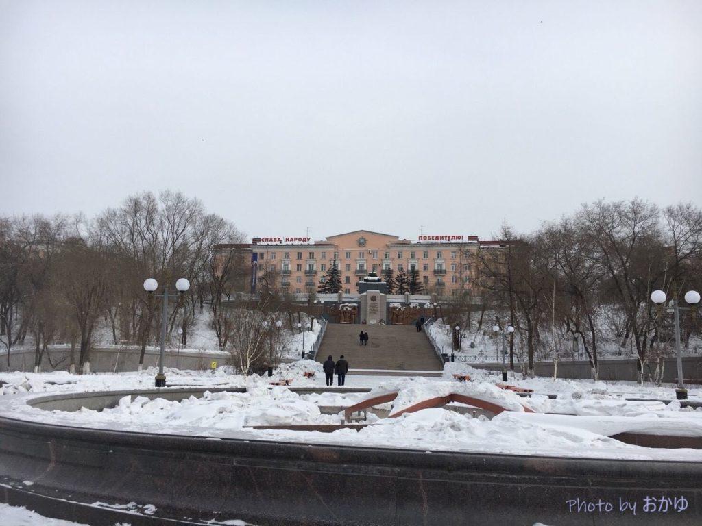【シベリア鉄道横断旅行記】ロシア・ウラン=ウデの戦勝記念公園