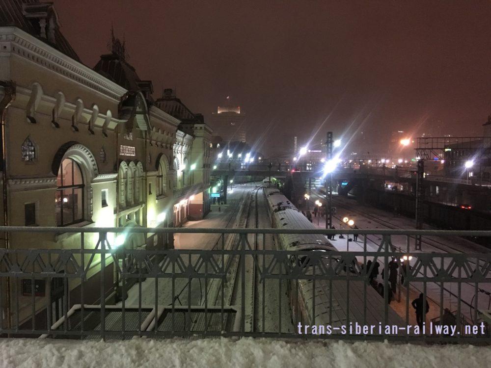シベリア鉄道旅行記:ウラジオストク駅