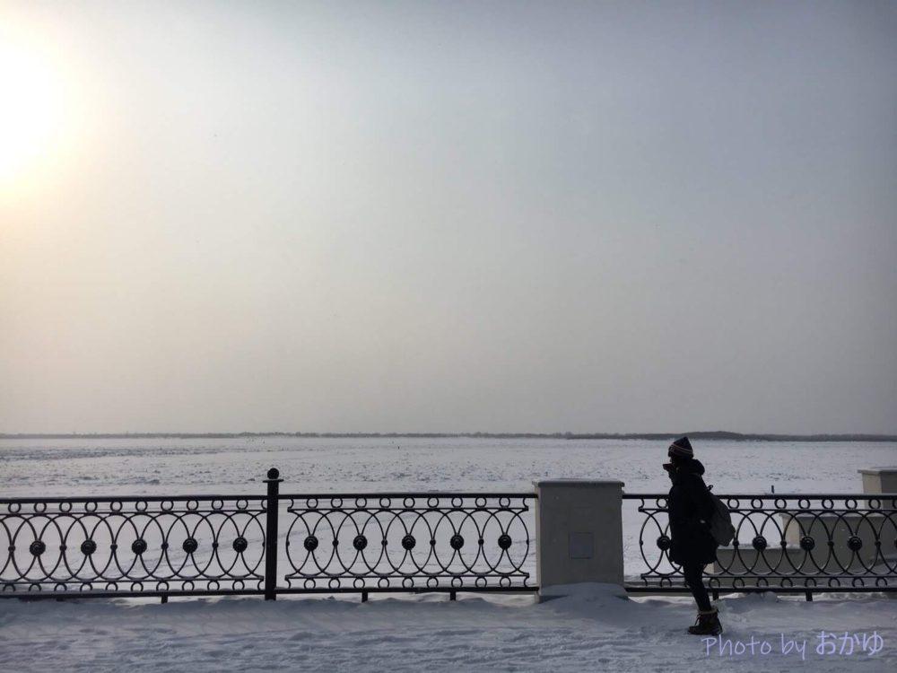 シベリア鉄道横断旅行記:ハバロフスク・アムール川