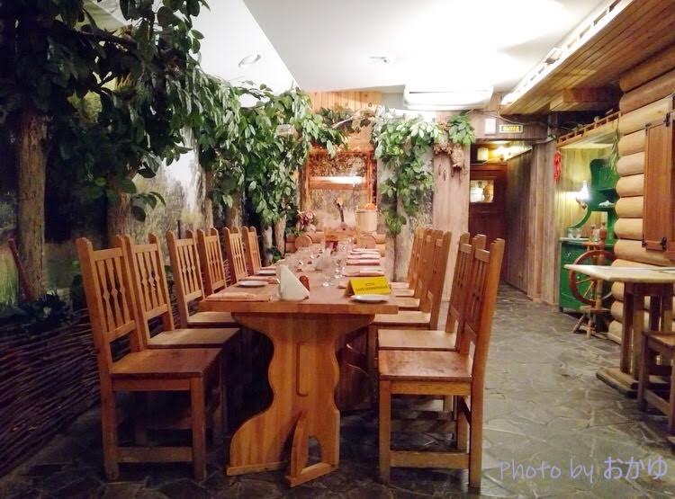 シベリア鉄道横断旅行記:ハバロフスクのルースキー・レストラン